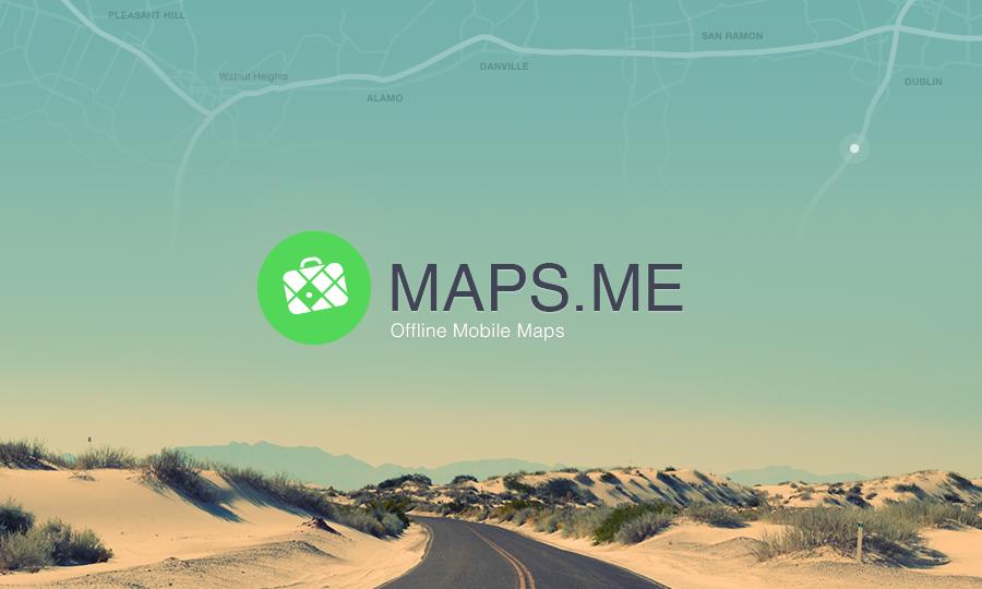 GPS hors ligne maps.me