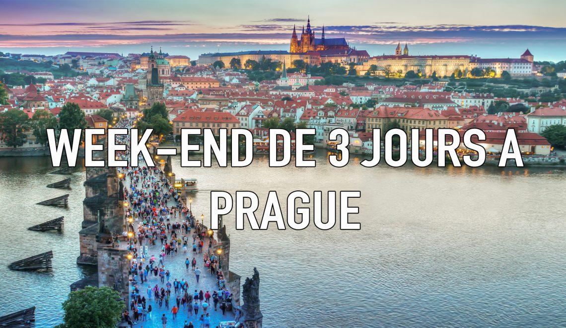 Visiter Prague sur un weekend : les inmanquables