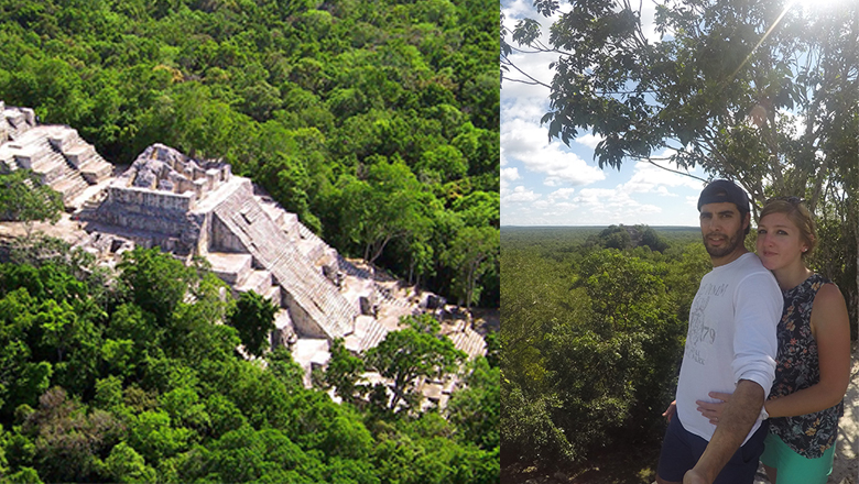 Calakmul, un site archéologique maya en pleine jungle