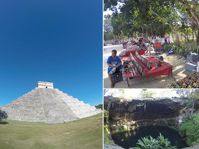Site archéologique de Chichen Itza et visite de Valladolid