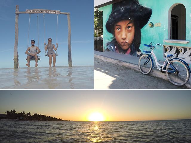 Derniers jours de vacances à Holbox au Mexique