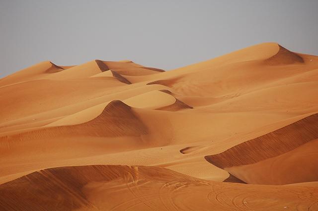 Le Désert de Dubaï dans les Emirats Arabes Unis