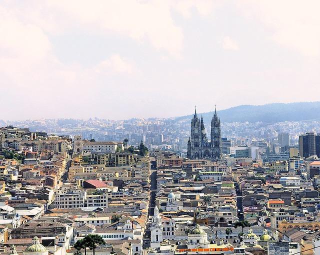 La magnifique capitale de l'Equateur : Quito